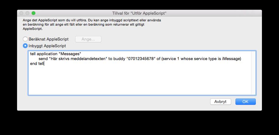 UtforAppleScript